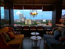 Widok seventen Surabaya ciry Indonesia Obrazy Royalty Free