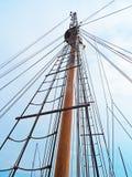 Widok ship& x27; s maszty Zdjęcie Royalty Free