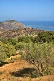 widok sicilian zdjęcia stock