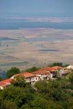 Widok Sighnaghi stary miasteczko w Kakheti regionie, Gruzja (Signagi) Obraz Stock