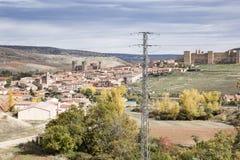 Widok Siguenza miasto Zdjęcie Stock