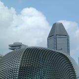 Widok Singapur esplanada zdjęcia stock