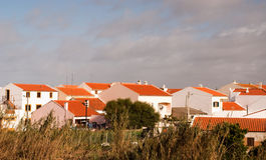Widok sinusy, Portugalia Obrazy Royalty Free