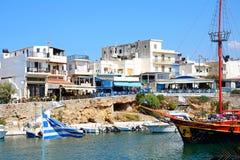 Widok Sissi miasteczka i schronienia budynki Zdjęcia Royalty Free