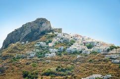 Widok Skyros wyspa obrazy stock