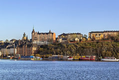 Widok Sodermalm, Sztokholm fotografia stock