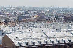 Widok St Petersburg od dachu dom Obraz Stock