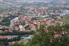 Widok stan San Marino Zdjęcia Royalty Free