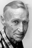 Widok stary człowiek Fotografia Royalty Free