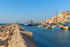 Widok stary Jaffa, Izrael Fotografia Stock