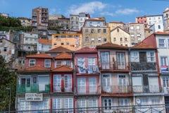 Widok stary miasteczko Porto, Portugalia, 23 może 2014, miasto Porto o Obraz Stock