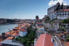 Widok stary miasteczko Porto, Portugalia, 23 może 2014, miasto Porto o Zdjęcie Stock