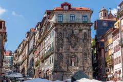 Widok stary miasteczko Porto, Portugalia, 23 może 2014, miasto Porto o Obrazy Royalty Free