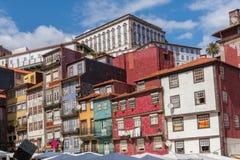 Widok stary miasteczko Porto, Portugalia, 23 może 2014, miasto Porto o Obraz Royalty Free