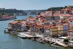 Widok stary miasteczko Porto, Portugalia, 23 może 2014, miasto Porto o Fotografia Royalty Free
