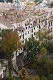 Widok stary miasto Cuenca Zdjęcia Royalty Free