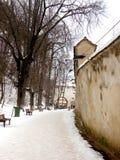 Widok stary średniowieczny miasteczko Brasov (Kronstadt) Fotografia Stock