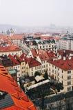 Widok stary rynek w Praga Fotografia Royalty Free