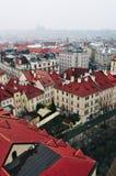 Widok stary rynek w Praga Obrazy Royalty Free