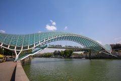 Widok stary Tbilisi Zdjęcie Royalty Free