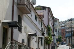 Widok stary Tbilisi Obraz Royalty Free