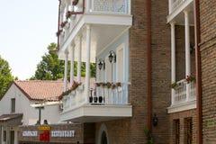 Widok stary Tbilisi Zdjęcia Royalty Free