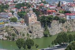 Widok stary Tbilisi Fotografia Royalty Free