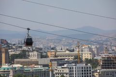 Widok stary Tbilisi Zdjęcie Stock