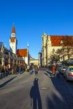Widok stary urząd miasta w Monachium Obrazy Stock