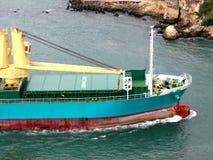 widok statku towarowego Obrazy Royalty Free