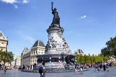 Widok statua Andre Tollet zdjęcie royalty free