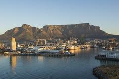 Widok Stołowy Halny Capetown Południowa Afryka zdjęcie stock