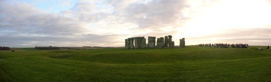 Widok stonehenge Zdjęcie Royalty Free