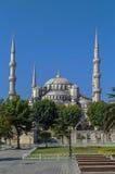 Widok sułtanu Ahmed meczet, Istanbuł zdjęcia royalty free