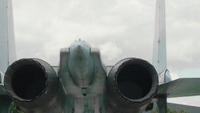 Widok SU-27 silnik zbiory