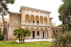 Widok swoboda stylu historyczny budynek Pescara Abruzzo Ita obraz royalty free