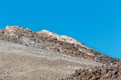Widok szczyt Mt Teide, Tenerife, Hiszpania Obraz Royalty Free