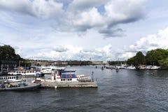 Widok Sztokholm Fotografia Royalty Free