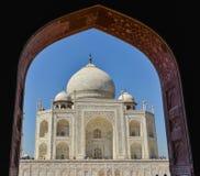 Widok Taj Mahal od prawej strony Zdjęcia Stock