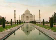 Widok Taj Mahal w Agra Zdjęcia Stock