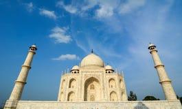 Widok Taj Mahal w Agra Zdjęcie Royalty Free