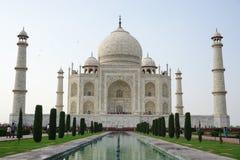 Widok Taj Mahal w Agra, India Zdjęcia Stock
