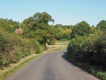 Widok Tanworth w Arden obrazy royalty free
