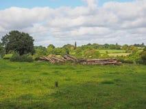 Widok Tanworth w Arden obraz stock