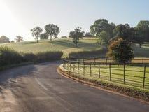 Widok Tanworth w Arden fotografia stock