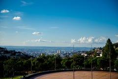 Widok tata kwadrat Belo Horizonte obraz stock