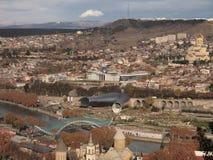 Widok Tbilisi (Gruzja) Zdjęcie Royalty Free