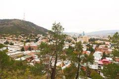 Widok Tbilisi miasto, Gruzja Fotografia Royalty Free