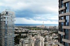 Widok Tel Aviv Izrael fotografia stock
