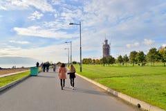 Widok 300th rocznica park w StPetersburg Zdjęcie Stock